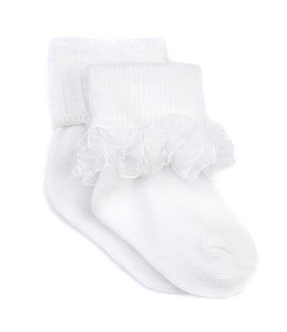 Starting Out Infant Tutu-Trim Anklet Socks 2-Pack