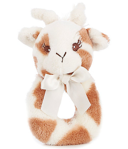 Starting Out Patches Plush Giraffe and Shaker Baby Rattle