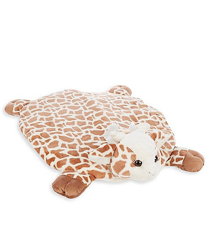 Starting Out Patches Plush Giraffe Tummy Time Playmat