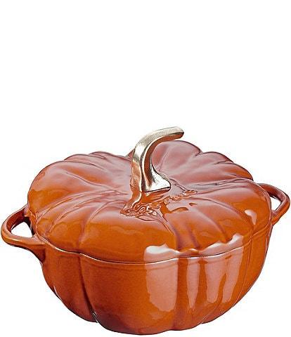 Staub Cast Iron 3.5 QT Pumpkin Cocotte