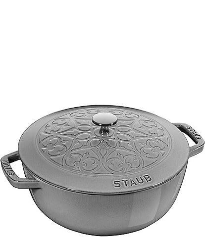 Staub Cast Iron 3.75-QT Essential Dutch Oven Lilly Lid