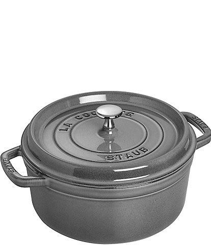Staub Cast-Iron 5.5 QT Round Cocotte