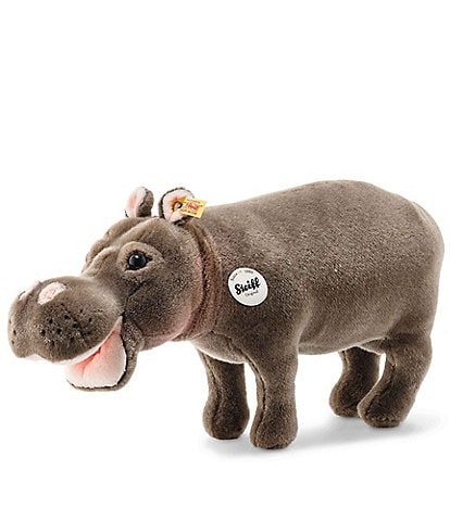 Steiff Natural Geographic 17#double; Hedda Hippo Plush