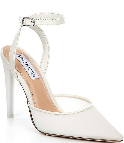Steve Madden Alessi Ankle Strap Pointed Toe Pumps