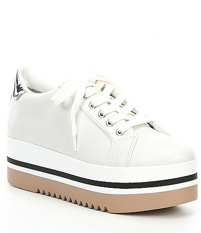 Steve Madden Alley Lace-Up Platform Sneakers