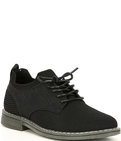 Steve Madden Boys' B-Rugby Knit Dress Shoes Youth