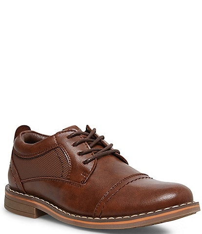 Steve Madden Boys' Boliverr Leather Dress Shoe