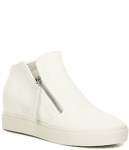 Steve Madden Click Wedge Knit Sneakers