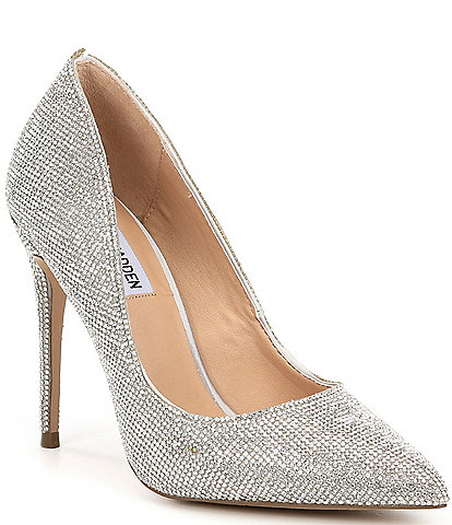 1c99bff43ab3 Steve Madden Daisie Crystal Jeweled Pointed Toe Pumps