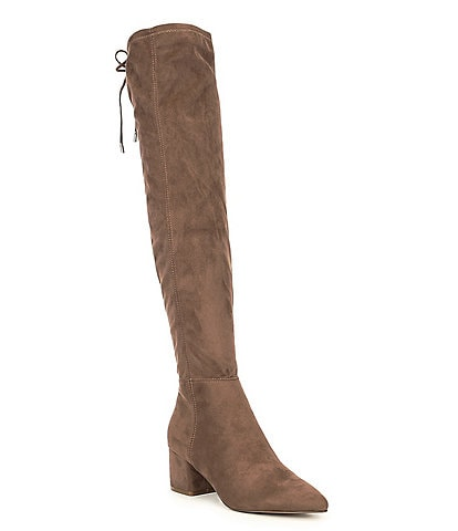Steve Madden Eagerly Over-the-Knee Block Heel Boots