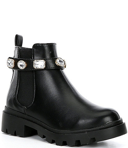 Steve Madden Girls' J-Amulet Lug Sole Booties (Youth)