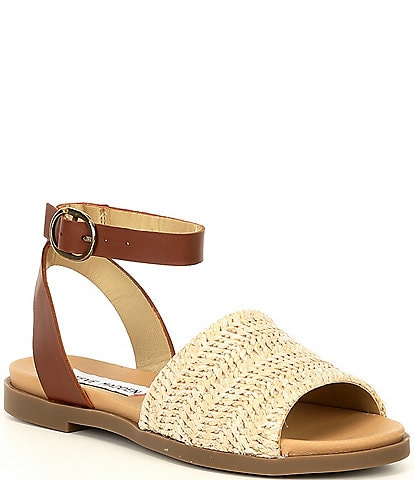 Steve Madden Girls' J-Dennyy Rafia Sandals (Youth)