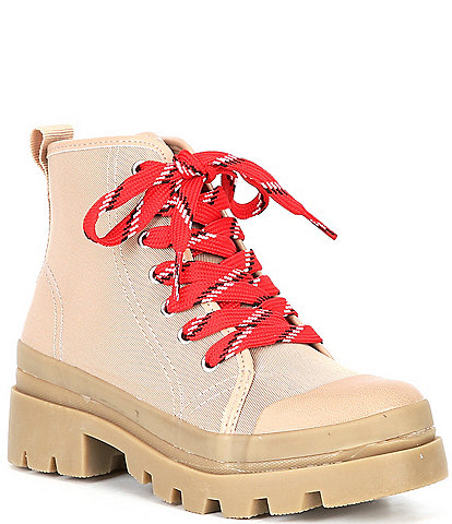 Steve Madden Girl's J-Grapes Lug Sole Boots (Youth)