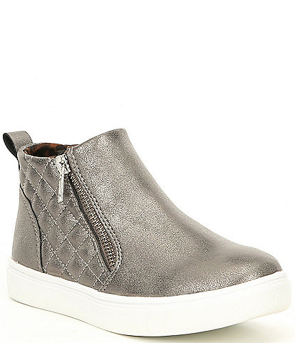 Steve Madden Girls' J-Reggie Zipper Sneakers Youth