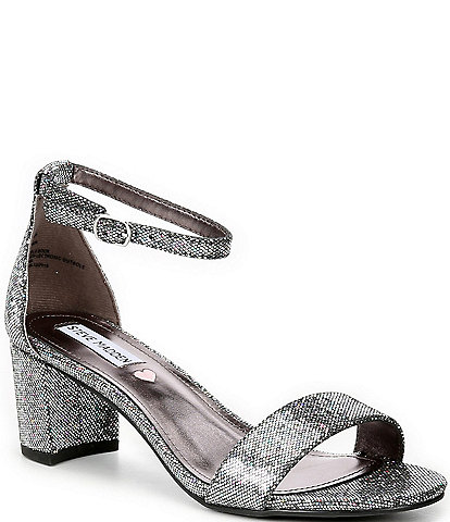 Steve Madden Girls' Tween J-Carrson Block Heel Sandals Youth