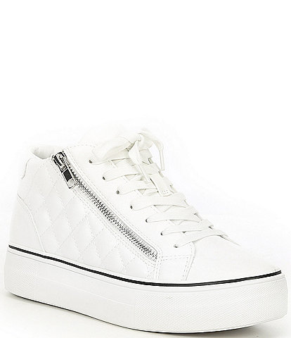 Steve Madden Gryphon-Q Quilted Platform Sneakers