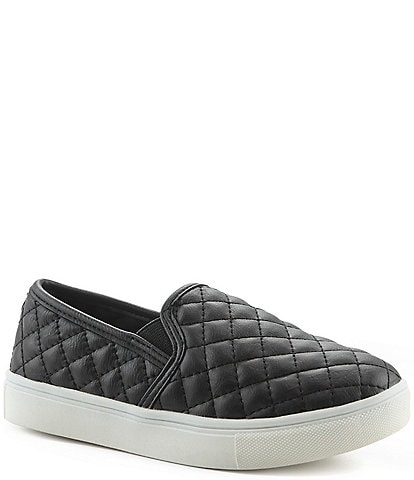 4acb3e5688a6 Steve Madden J-Ecentricq Girls  Quilted Slip-On Sneakers