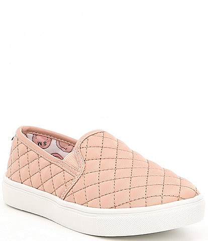 Steve Madden J-Ecentricq Girls' Quilted Slip-On Sneakers