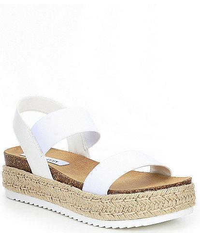 Steve Madden Jaklin Platform Espadrille Banded Sandals