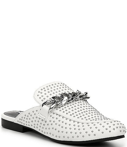 Steve Madden Keller-S Studded Detail Dress Mules