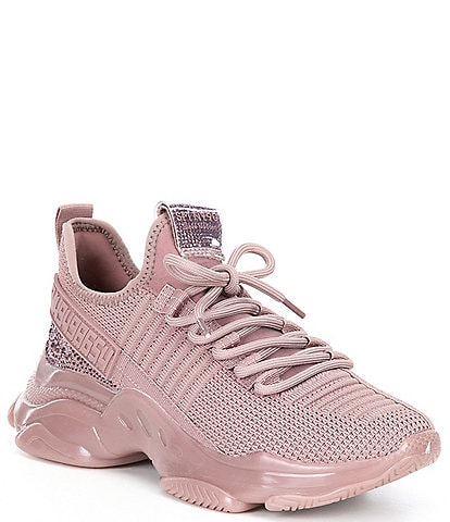 Steve Madden Maxima Embellished Chunky Lace-Up Sneakers