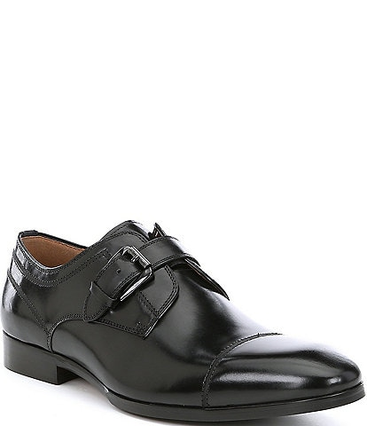 Steve Madden Men's Covet Leather Monk Strap