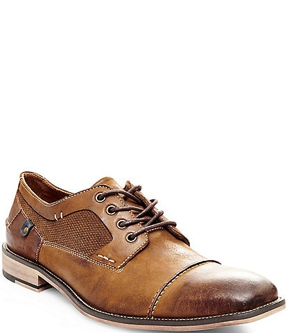 Steve Madden Men's Jagwar Leather & Suede Oxfords