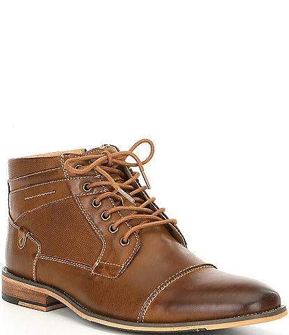 Steve Madden Men's Jotter Cap Toe Boots