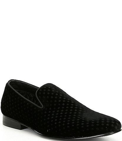 Steve Madden Men's Velvet Lifted Slip On Loafer