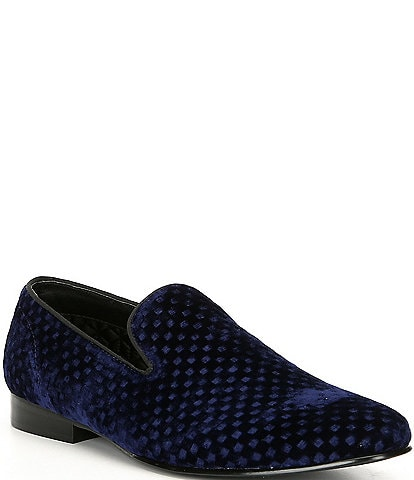 77c9123570a6 Steve Madden Men s Velvet Lifted Slip On Loafer