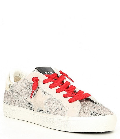 Steve Madden Philosophy Multi Star Print Sneakers