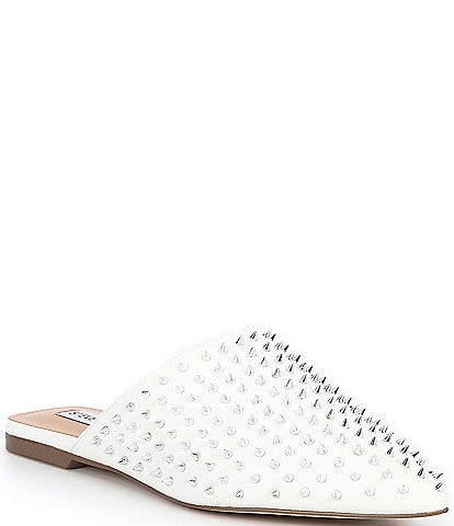 Steve Madden Pinpoint Studded Pointed Toe Mules