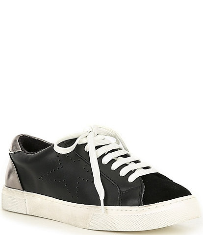 Steve Madden Rezume Leather & Suede Sneakers