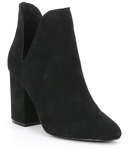 Steve Madden Rookie Suede Ankle V-Cut Booties