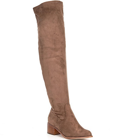 Steve Madden Sadie Over-The-Knee Block Heel Boots