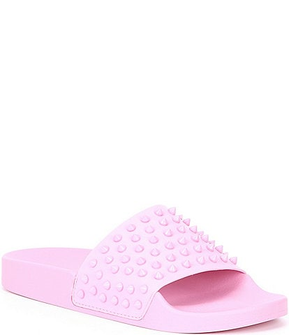 Steve Madden Select Studded Detail Pool Slides