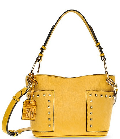 Steve Madden TAMMIE Textured and Studded Hobo Bag