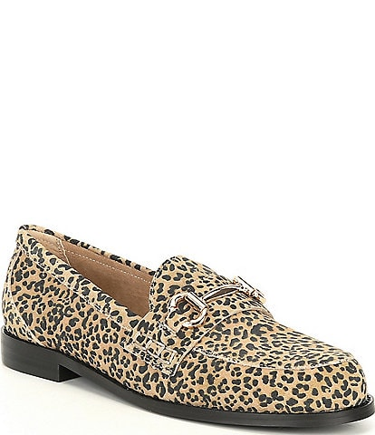 Steve Madden Taylored-C Leopard Print Loafers