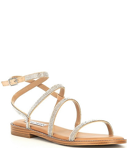 Steve Madden Transport-R Strappy Rhinestone Sandals