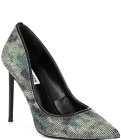 Steve Madden Vivacious Rhinestone Embellished Camo Stiletto Pumps