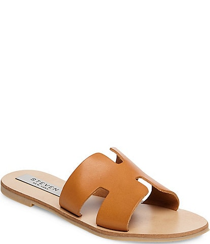 Steven by Steve Madden Greece Leather Sandals