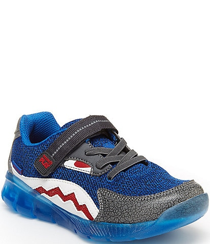 Stride Rite Boys' Lighted Shark Made2Play Sneakers Toddler