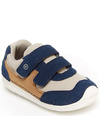 Stride Rite Boys' Mason SM Leather Sneakers Infant