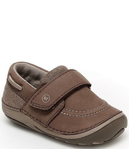 Stride Rite Boys' Wally SM Leather Sneakers (Infant)