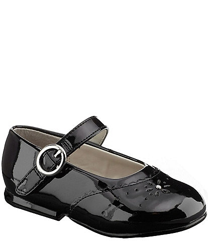 Stride Rite Girls' Camila Patent Cut Out Mary Jane Dress Shoes Infant