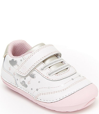Stride Rite Girls' Adalyn Leather Soft Motion Shoes Infant