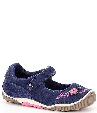 Stride Rite Girls' Alise Suede Mary Janes (Toddler)
