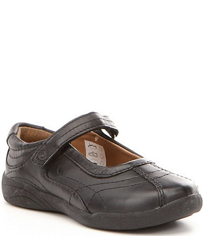 Stride Rite Girls' Claire Leather Mary Jane Flats Youth