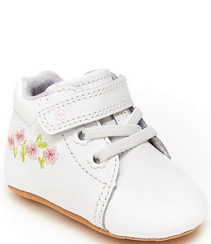 Stride Rite Girls' Emilia Crib Shoes (Infant)