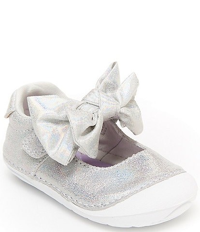 Stride Rite Girls' Esme Leather Soft Motion Mary Janes Infant